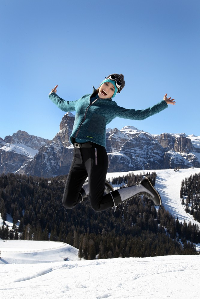 ISARFOTO / Winter'Akademie 25.03.-29.03.2015 in Corvara / Südtirol  LuisTrenker Fashion Shooting