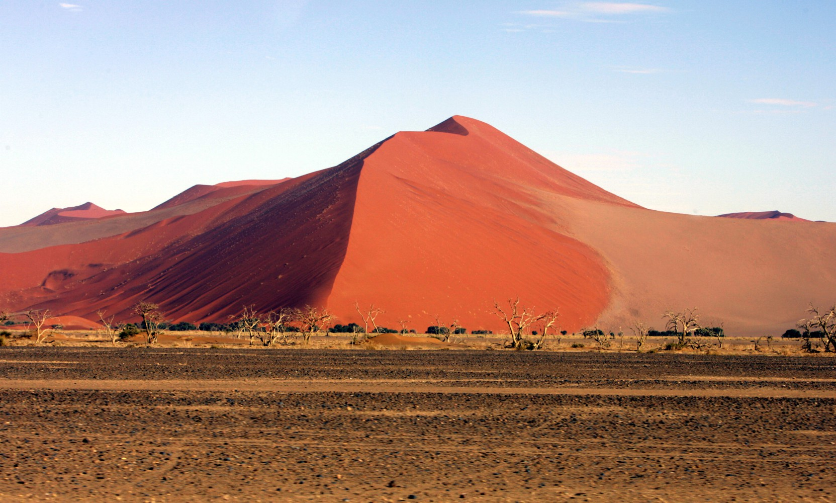 Tchibo Cafissimo Cooking for friends in Namibia 29.12.05-2.01.06 Sanddünen von Sossusvlei