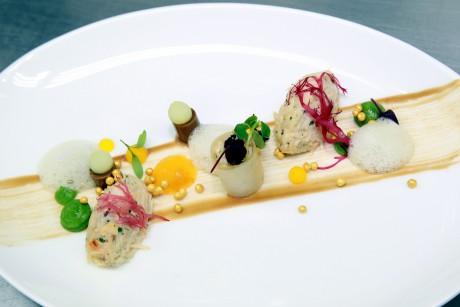 Davidoff Tour Gastronomique 21.04.2013  Paul Stradner & Elisabeth Tessier Brenner's Park Restaurant im Brenners Park-Hotel & Spa, Baden-Baden  Food