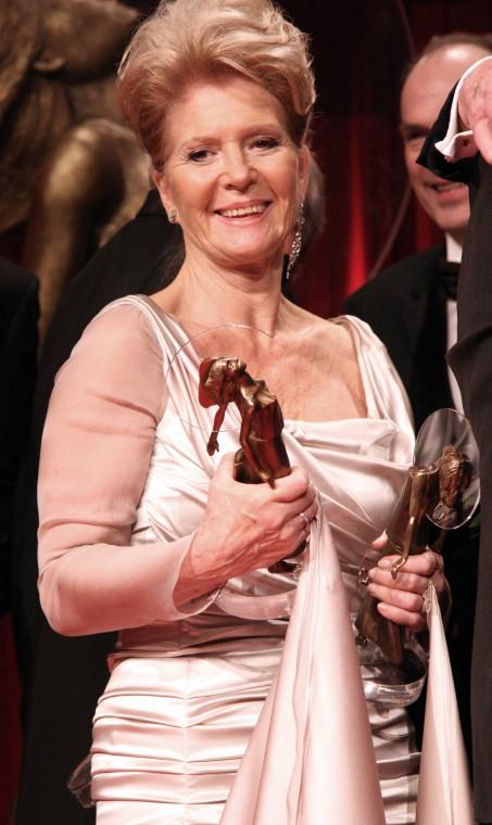 20 Jahre DIVA -  Deutscher Entertainment Preis 2010 im Hotel Bayerischer Hof / München  Christiane Hörbiger