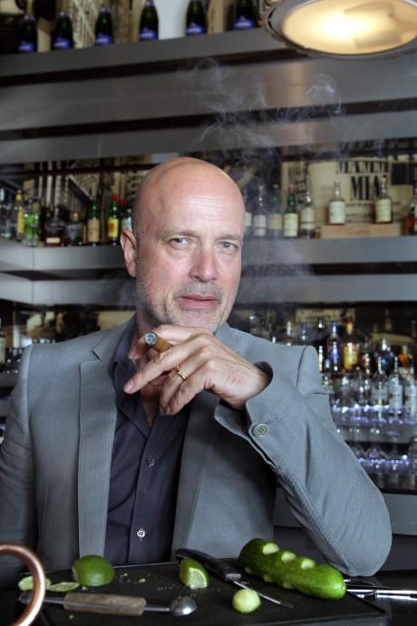 Davidoff Tour Gastronomique am 14.06.2014 Andreas Lanninger & Christian Berkel New York Bar & Restaurant in Berlin   Christian Berkel