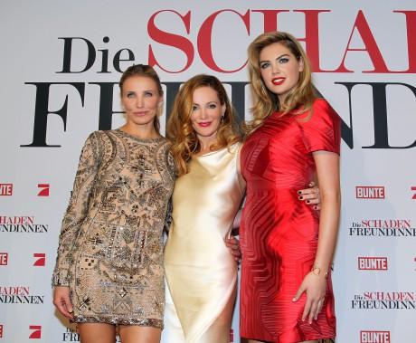 Die Schadenfreundinnen - Drei sind zwei zu viel Deutschland-Premiere im Mathäser Filmpalast  Cameron Diaz Leslie Mann Kate Upton